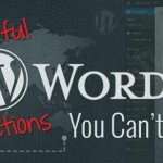 10 Useful WordPress Functions You Can't Live Without!