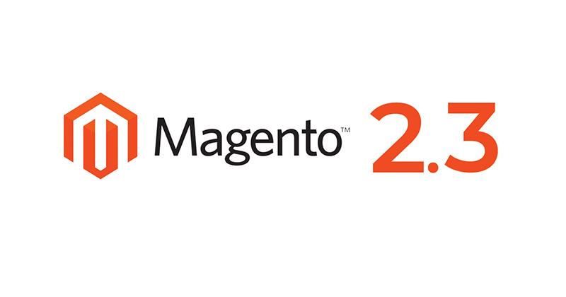 New Magento 2.3