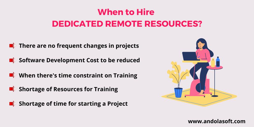 Hire Dedicated Remote Resources