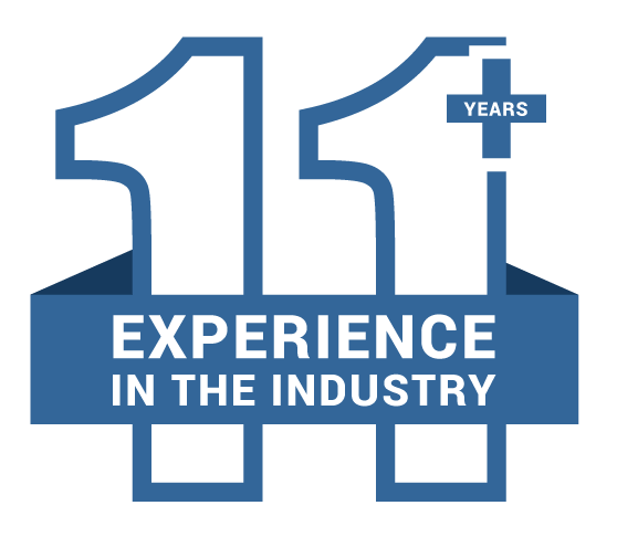 8 Years Industry Experience